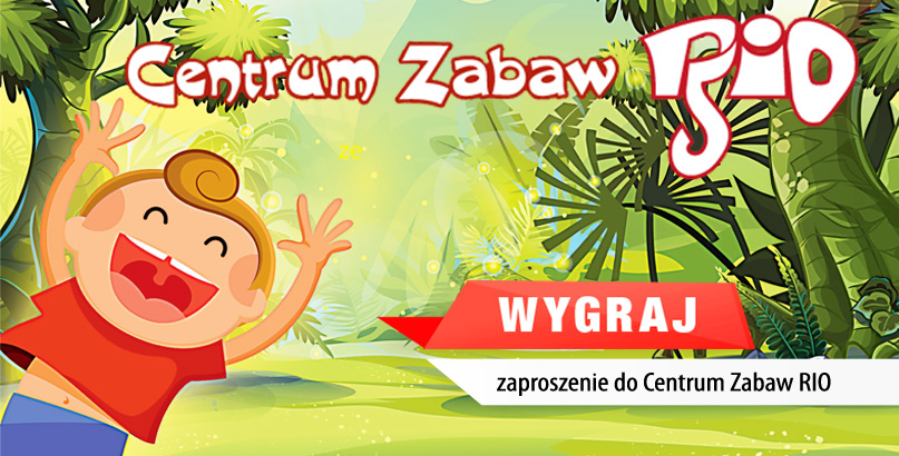 Do wygrania voucher do Centrum Zabaw RIO