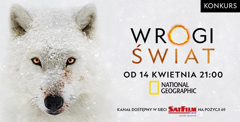 Wygraj 1 z 3 super nagród od kanału National Geographic!